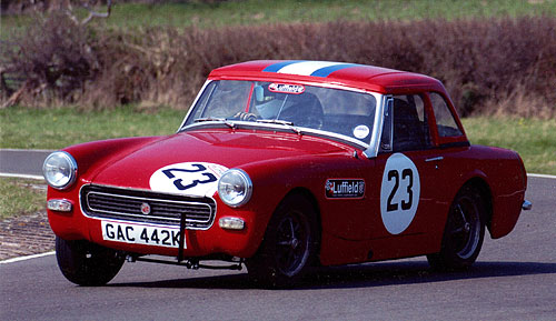 MG Midget at Curborough