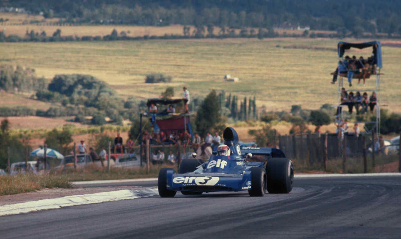 Jackie Stewart was World Champion in 1969 1971 and 1973