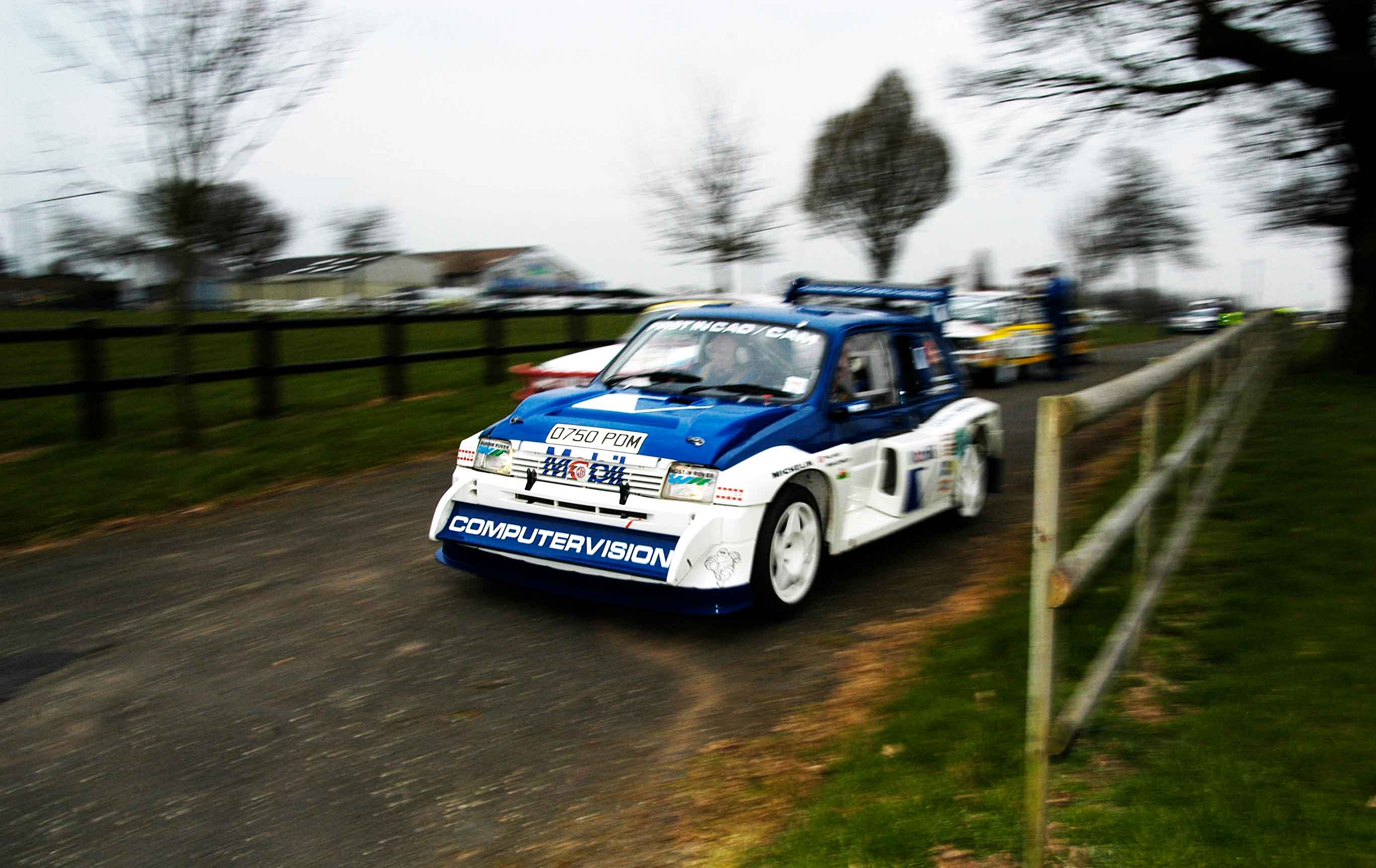 MG Metro 6R4 photo by automotive journalist Andrew Noakes