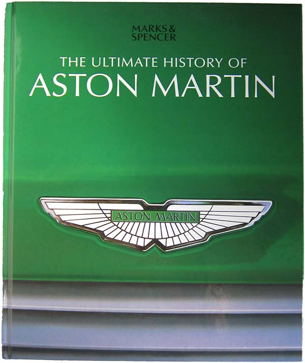 Ultimate History of Aston Martin book