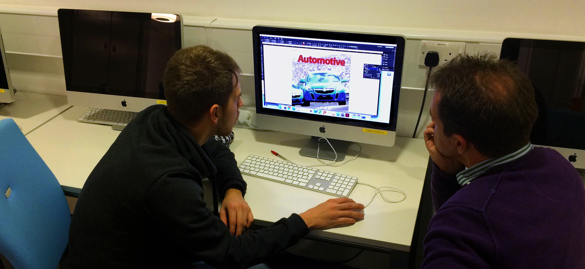 MA Automotive Journalism students at Coventry University
