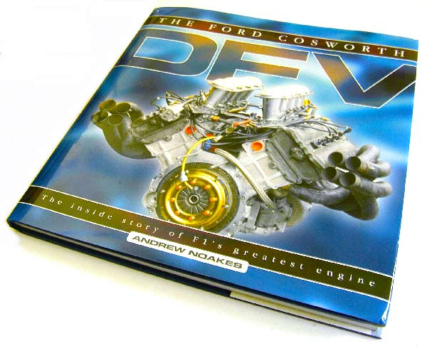 Ford Cosworth DFV book by Andrew Noakes