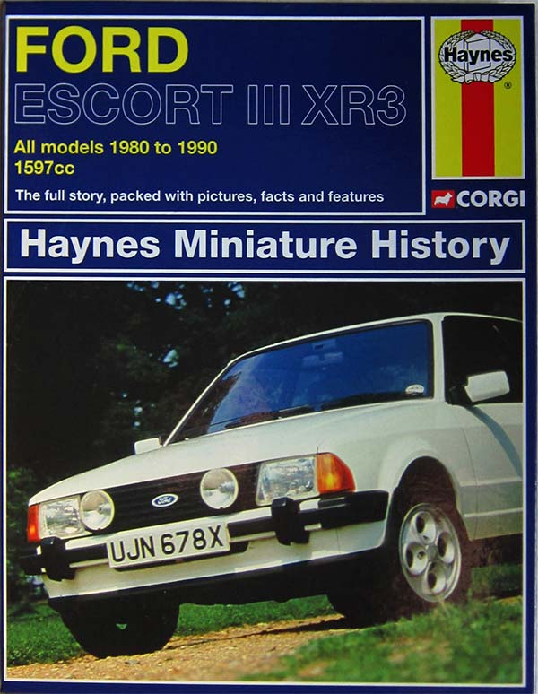 Escort XR3 book
