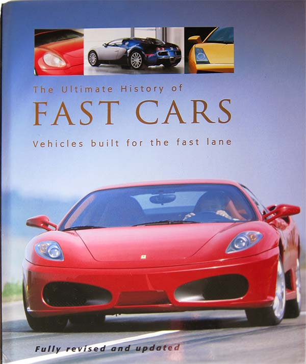 Ultimate History of Fast Cars book