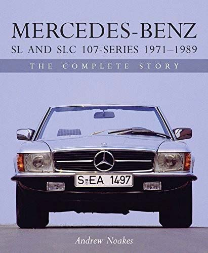 Mercedes SL and SLC 107-series book