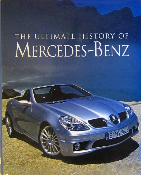 Ultimate History of Mercedes-Benz book