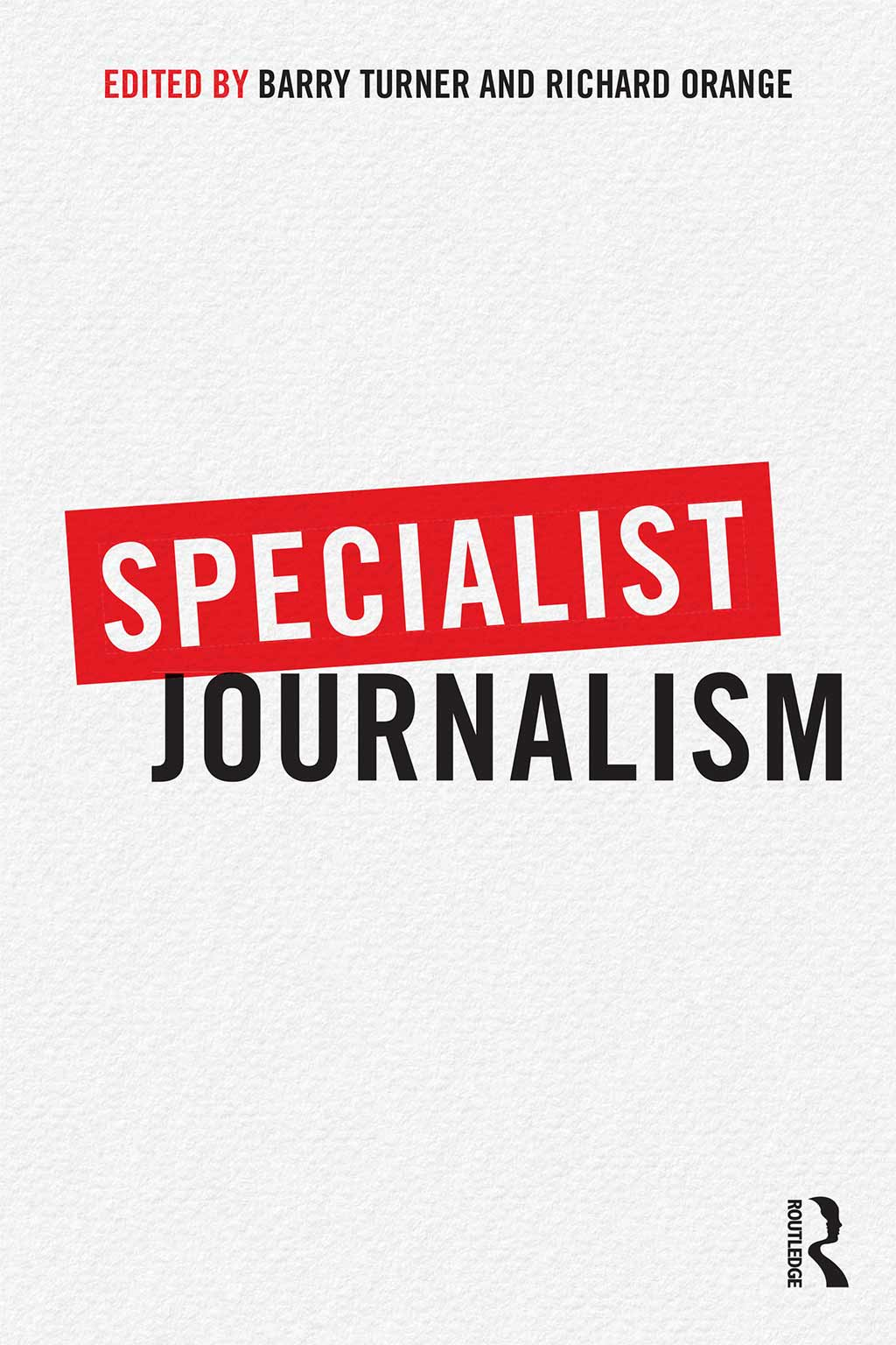 Specialist Journalism book